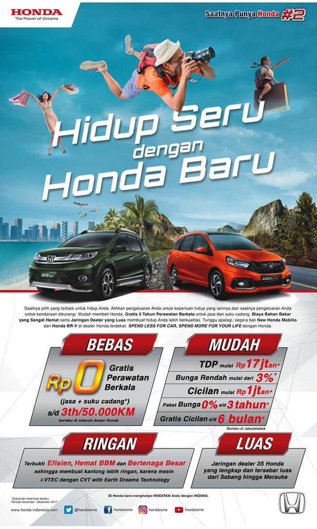 Banner Promo Semua Bisa Punya Honda