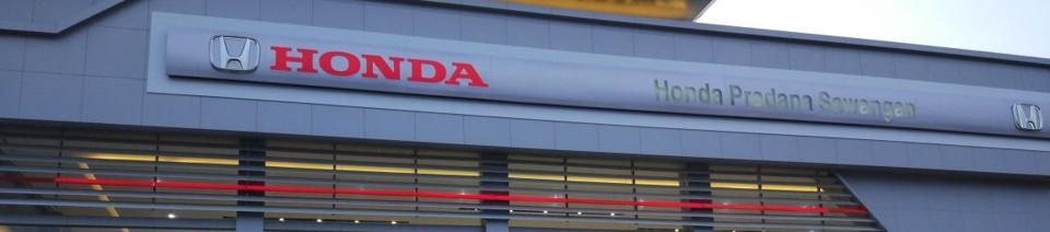 Honda Pradana Sawangan