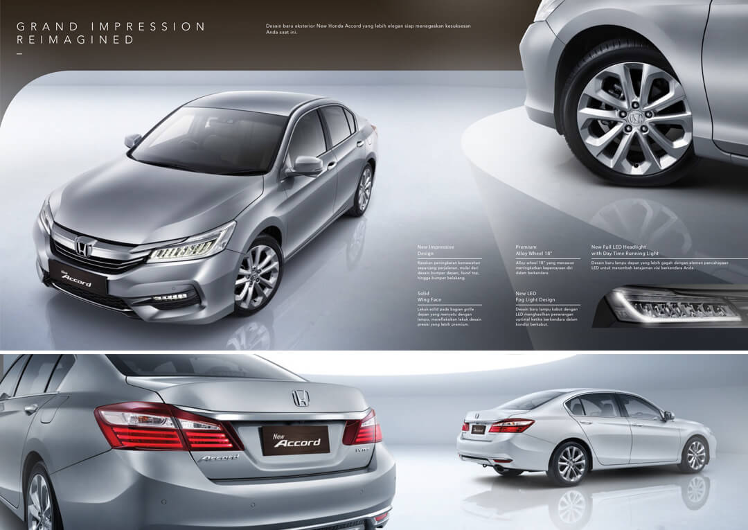 Esterior Design Honda Accord