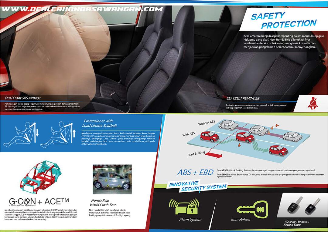 Fitur Keselamatan Honda Brio Terbaru