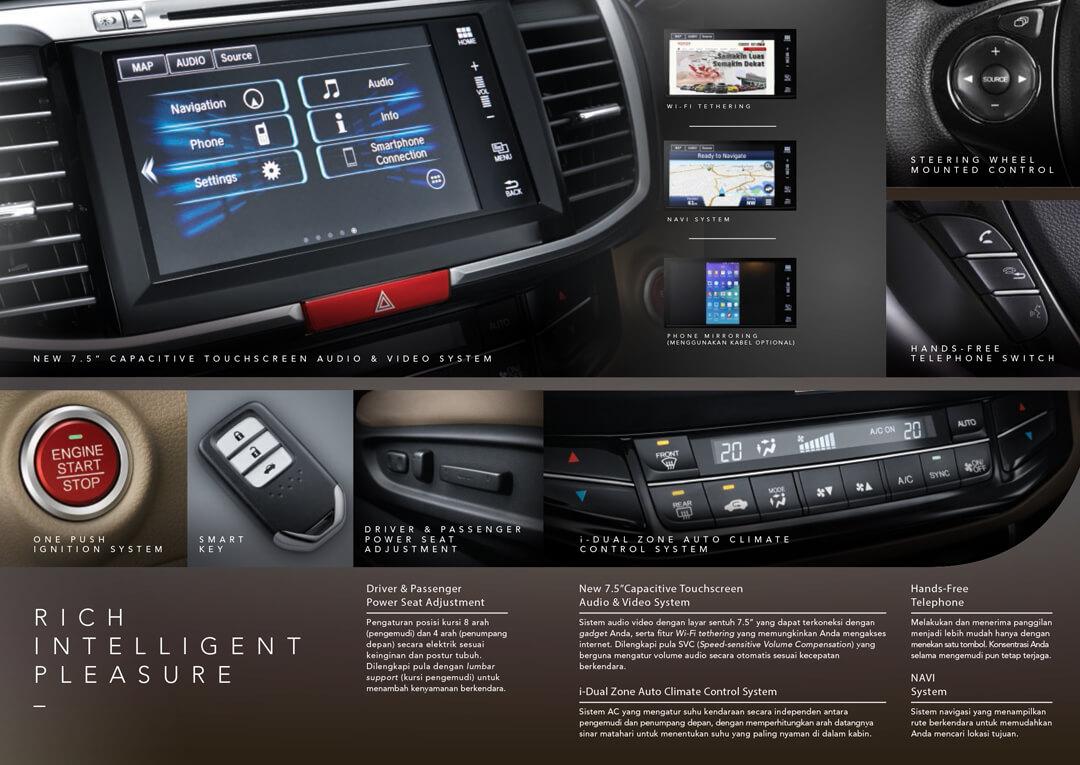 Fitur Teknologi Honda Accord Lengkap dan Modern