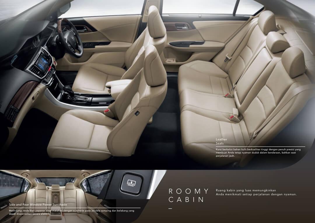 Kabin Honda Accord - Mobil Sedan Dengan Kabin Luas dan Nyaman