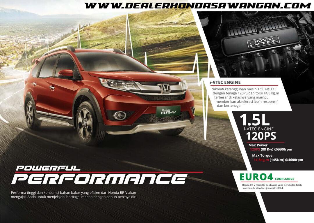 Performa Honda BRV - Mobil SUV Tangguh Disegala Medan