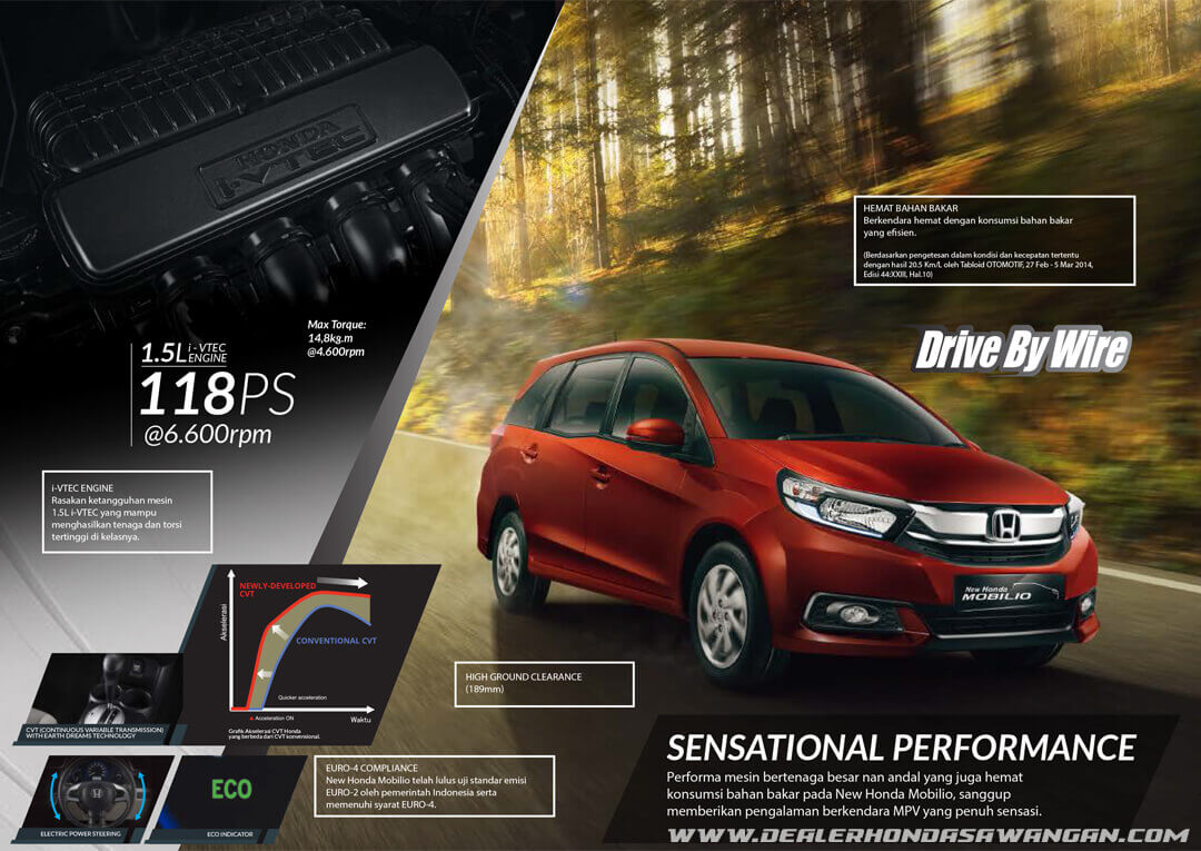 Performa Honda Mobilio Terbukti Handal