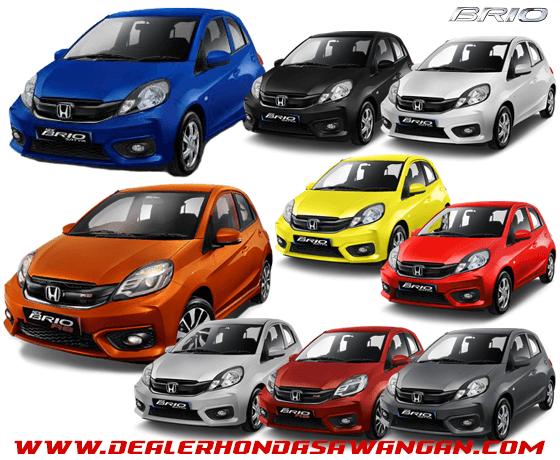 Pilihan Warna Honda Brio Terbaru