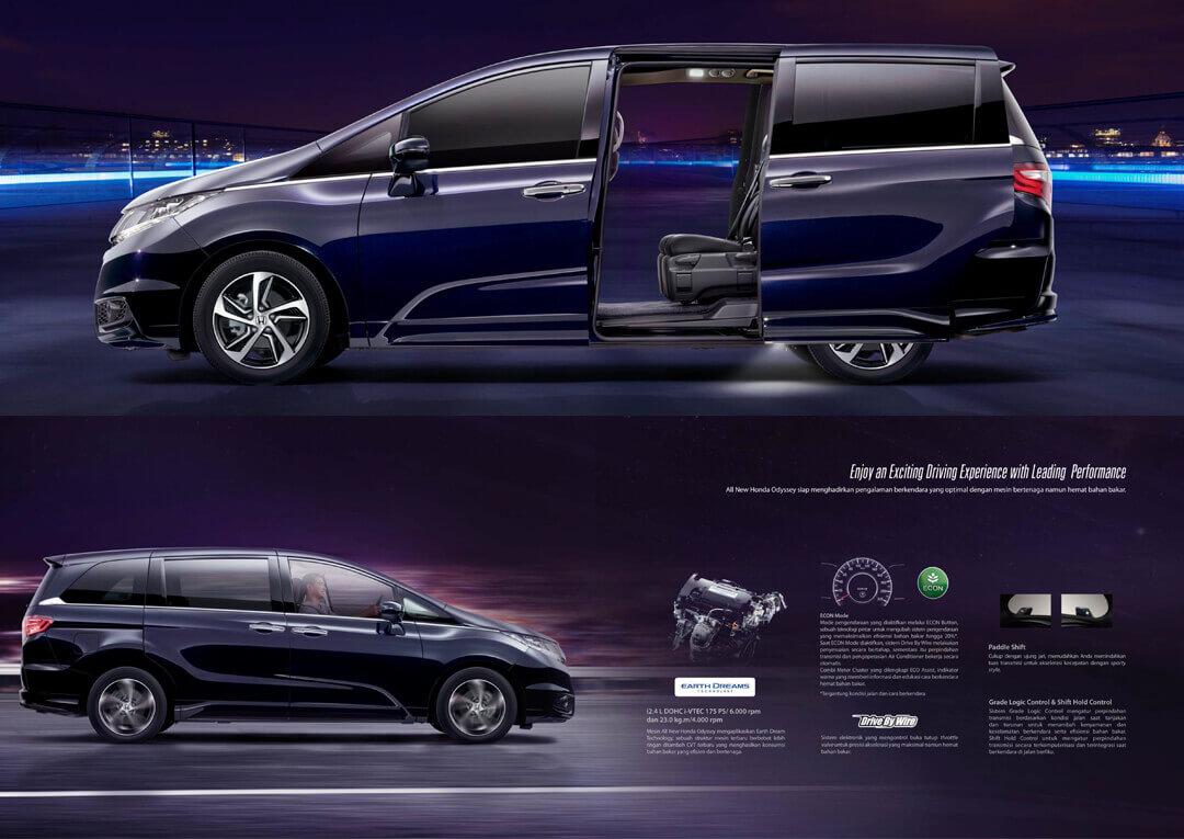 Teknologi Mesin Honda Odyssey