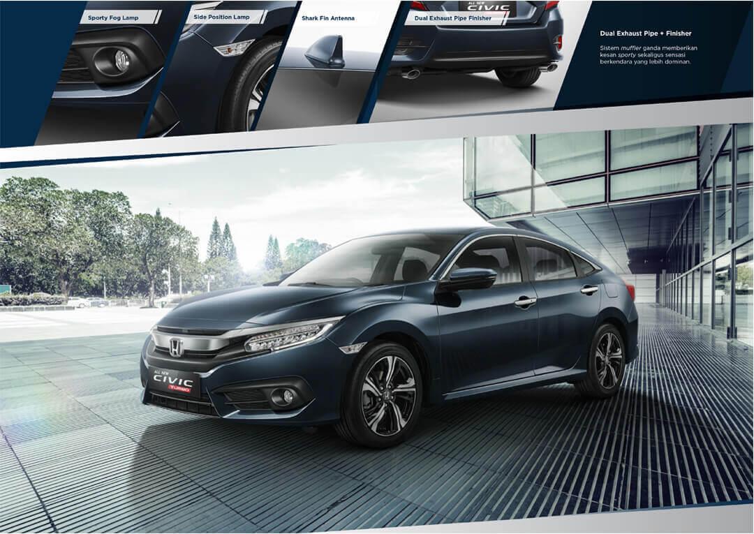 Desain Eksterior Honda Civic