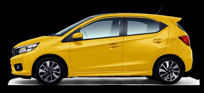 All New Honda Brio Kuning Carnival Yellow