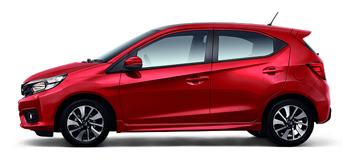 All New Honda Brio Merah Coffee Cherry Red (Tipe RS)
