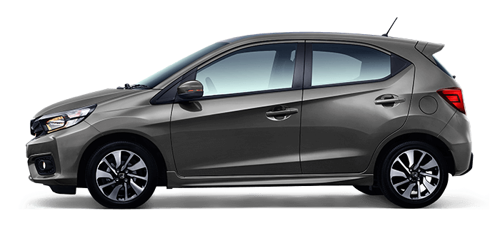 All New Honda Brio Grey Modern Steel Metallic