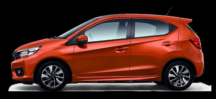 All New Honda Brio Phoenix Orange Pearl (Tipe RS)